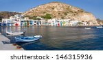 klima fishing village  milos... | Shutterstock . vector #146315936