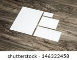 blank corporate identity... | Shutterstock . vector #146322458