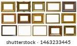frames a picture antiques set | Shutterstock . vector #1463233445