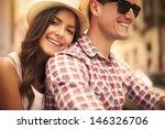 Close Up Loving Couple Riding - Fine Art prints