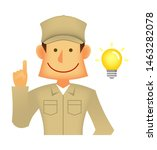 young asian  japanese korean... | Shutterstock .eps vector #1463282078