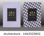 muslim pattern vector cover... | Shutterstock .eps vector #1463325842