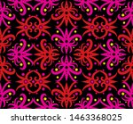 seamless pattern of borneo... | Shutterstock .eps vector #1463368025
