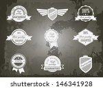 retro vintage premium quality... | Shutterstock .eps vector #146341928