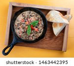 Fried Snails In Cream Sauce  In ...
