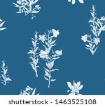 seamless pattern chinoiserie...   Shutterstock .eps vector #1463525108
