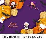 Happy Halloween Design. 3d...