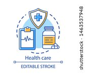 health care concept icon....   Shutterstock .eps vector #1463537948