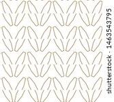 geometric ornamental vector... | Shutterstock .eps vector #1463543795