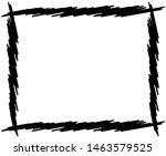 sketch  scribble rectangular... | Shutterstock .eps vector #1463579525