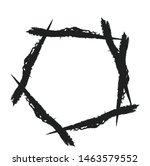 abstract circular  geometric... | Shutterstock .eps vector #1463579552