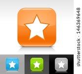 star icon. blue  orange  green  ...