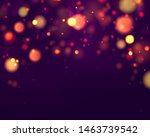 festive purple and golden... | Shutterstock .eps vector #1463739542