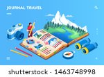 Isometric Screen For Travel...