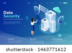 internet security shield... | Shutterstock .eps vector #1463771612