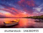 A Rowboat Watches An Amazing...