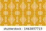 ikat geometric folklore... | Shutterstock .eps vector #1463857715
