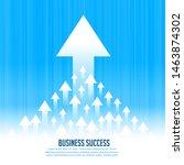 upward rising leading arrows...   Shutterstock .eps vector #1463874302