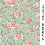 classic wallpaper seamless... | Shutterstock . vector #146388182