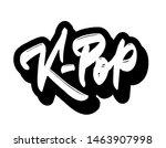 k pop   korean pop music style. ... | Shutterstock .eps vector #1463907998