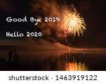 Background Good Bye 2019 Hello...
