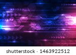 vector abstract futuristic... | Shutterstock .eps vector #1463922512
