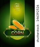 corn | Shutterstock .eps vector #146392526