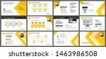 presentation and slide layout... | Shutterstock .eps vector #1463986508