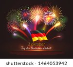 germany independence day... | Shutterstock .eps vector #1464053942