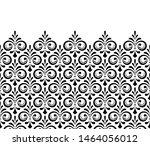 floral pattern. vintage... | Shutterstock . vector #1464056012