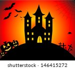 happy halloween | Shutterstock . vector #146415272