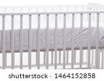 baby bed cot isolated on the...   Shutterstock . vector #1464152858