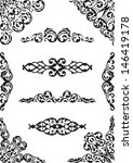 perfect classical design set... | Shutterstock .eps vector #146419178