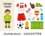 Vector Character Football...