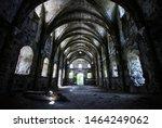 Abandoned Church. Interior...