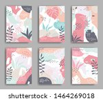 set of vector cards with...   Shutterstock .eps vector #1464269018