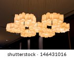7 lampshade from plastic pvc... | Shutterstock . vector #146431016
