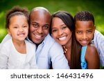 portrait of an african american ... | Shutterstock . vector #146431496