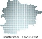 andora map dotted style. vector ...