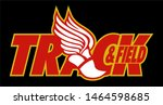 track and field team design... | Shutterstock .eps vector #1464598685