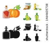 vector illustration of healthy... | Shutterstock .eps vector #1464605738