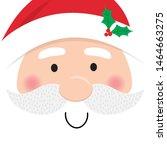 Santa Claus Face  Cute...
