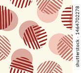 exaggerated retro geo dots... | Shutterstock .eps vector #1464702278