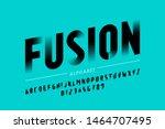 modern font design  alphabet... | Shutterstock .eps vector #1464707495