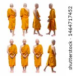 Buddhist Monks Are Standing...