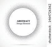black abstract vector circle...