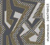 retro cloth geometric seamless...   Shutterstock .eps vector #1464748415