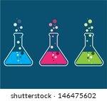 test tubes  | Shutterstock .eps vector #146475602