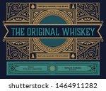 vintage label for packig....   Shutterstock .eps vector #1464911282