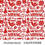 seamless pattern and background ...   Shutterstock . vector #1464934088